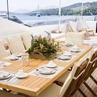 Catering at your doorstep; or maybe at your yacht? The Mykonos Catering Services delivers anywhere!