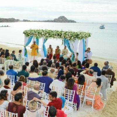An Indian Wedding in Mykonos Island!