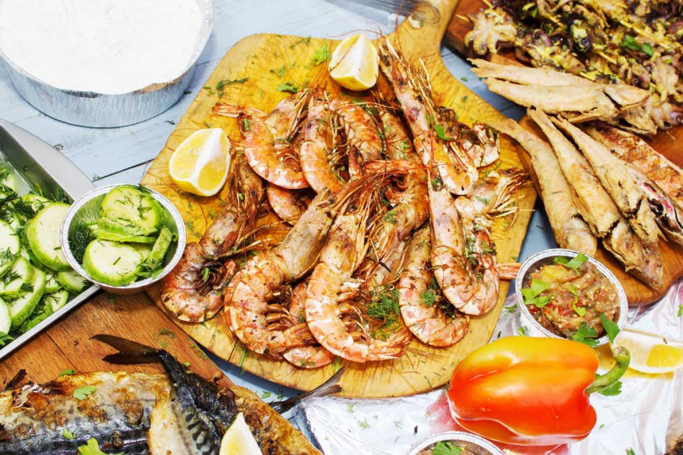Mix & Match Tastes for your event in Mykonos