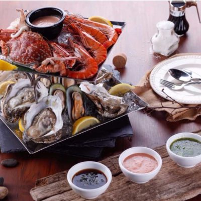 Seafood catering for your event in Mykonos!
